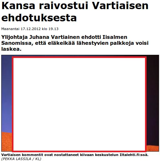 Iltalehti.fi 17.12.2012