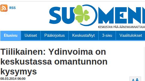 Suomenmaa 8.3.2014