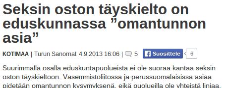 Turun Sanomat 4.9.2013